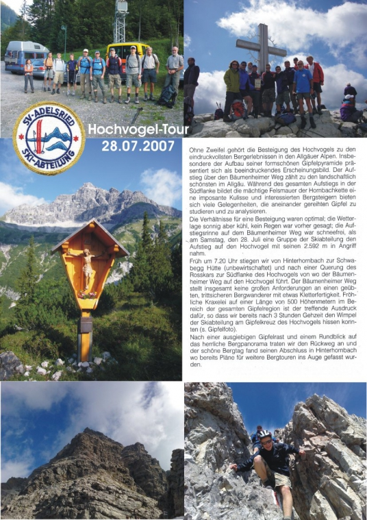 Hochvogel 07.2007 Poster