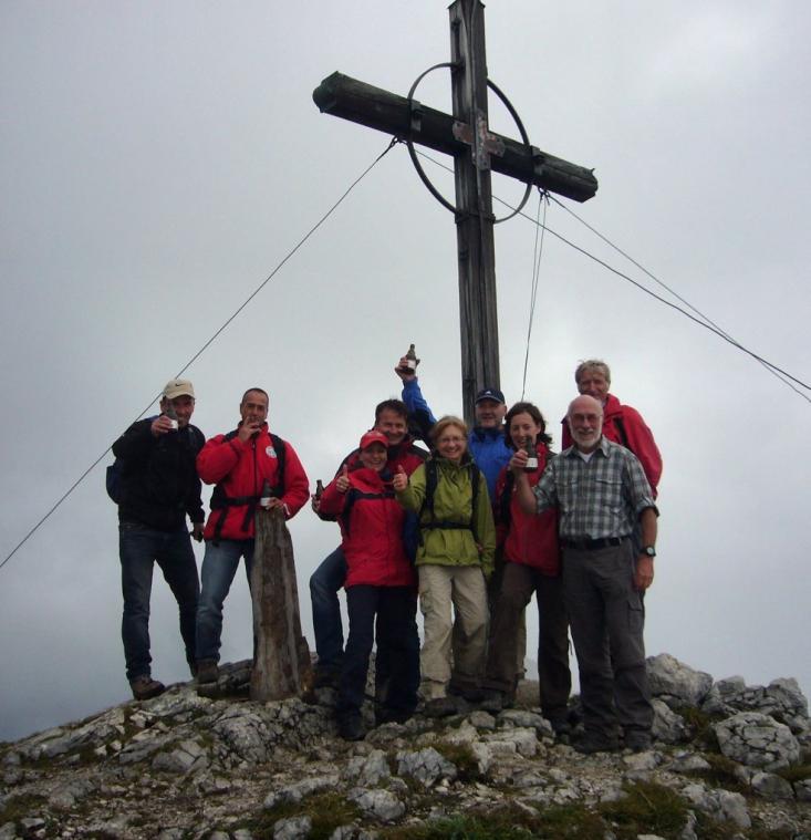 Roßstein Gipfelfoto